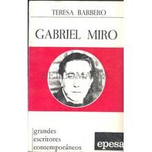 GABRIEL MIRO TERESA BARBERO EPESA EDICION 1973                      TC11987 A6C2