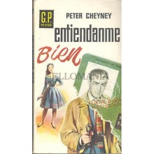 ENTIENDAME BIEN PETER CHEYNEY AÑO 1960 GP POLICIACA 121   TC12050 A6C2