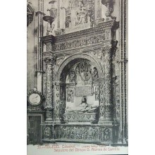 ANTIGUA POSTAL CATEDRAL DE TOLEDO SEPULCRO OBISPO DON ALONSO CARRILLO    CC3785