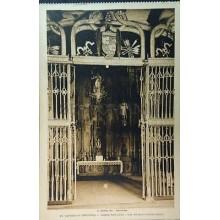 ANTIGUA POSTAL SANTIAGO DE COMPOSTELA HOSPITAL REAL IGLESIA REJA  ROISIN CC3820