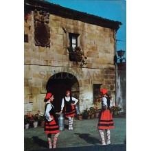 ANTIGUA POSTAL GRUPO TIPICO MONTAÑES DANZAS BAILES DANCE POSTCARD        CC3863