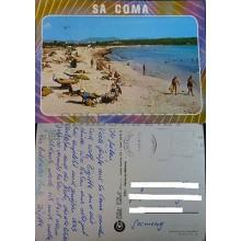 ANTIGUA POSTAL PLAYA SA COMA S'ILLOT MALLORCA ISLAS BALEARES POSTCARD    CC3883