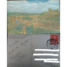 POSTAL TOLEDO 1959 PUENTE ALCANTARA CASTILLO SAN SERVANDO POSTCARD       CC3907