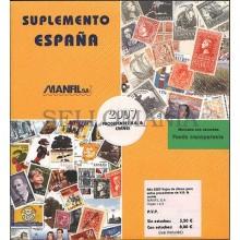 HOJA SUPLEMENTO MANFIL 2007 SELLOS PROCEDENTES HB Y CARNES MONTADOS TRANSPARENTE