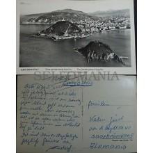 ANTIGUA POSTAL SAN SEBASTIAN 1961 MONTE IGUELDO GUIPUZCOA POSTCARD       CC04073