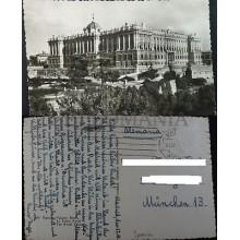 ANTIGUA POSTAL MADRID PALACIO REAL POSTCARD POSTKARTE                    CC04165