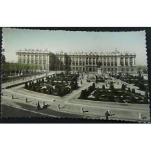 ANTIGUA POSTAL MADRID PLAZA DE ORIENTE PALACIO NACIONAL POSTCARD         CC04181