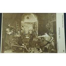 ANTIGUA POSTAL VELAZQUEZ DE SILVA LAS HILANDERAS MUSEO DEL PRADO MADRID  CC04186