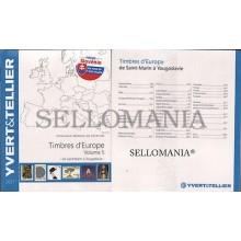 OFERTA CATALOGO SELLOS EUROPA VOLUMEN V  . YVERT & TELLIER PAISES  S - Y   EDICION 2017  TC20295