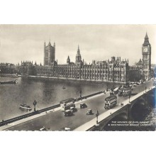 POSTCARD LONDON WESTMINSTER BRIDGE ENGLAND LONDRES INGLATERRA POSTAL  CC03440 UK