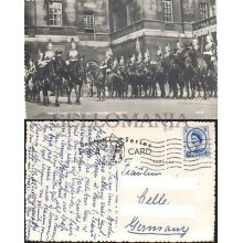 POSTCARD LONDON CHANGING THE GUARD 1958 ENGLAND LONDRES INGLATERRA POSTAL  CC03445 UK