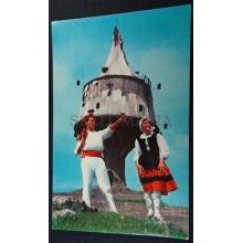 ANTIGUA POSTAL ORDUÑA VIZCAYA VIRGEN DE LA ANTIGUA DANZAS BAILES DANCES  CC03472