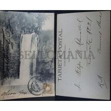ANTIGUA POSTAL 1904 MONASTERIO DE PIEDRA LA REQUIJADA NUEVALOS ARAGON    CC03522