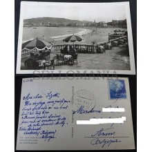 ANTIGUA POSTAL SAN SEBASTIAN 1955 VISTA MIRACONCHA GUIPUZCOA POSTCARD    CC03550