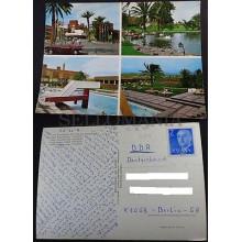 POSTAL LAS PALMAS DE GRAN CANARIA 1975 HOTEL MASPALOMAS OASIS POSTCARD   CC03652