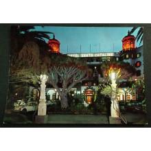 POSTAL LAS PALMAS DE GRAN CANARIA HOTEL SANTA CATALINA NOCHE POSTCARD    CC03653