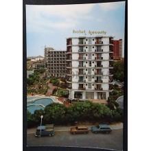 POSTAL GRAN CANARIA HOTEL BEVERLY PACK CANARIAS SAN AGUSTIN POSTCARD     CC03658