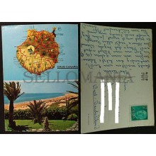 ANTIGUA POSTAL GRAN CANARIA 1969 ISLAS CANARIAS POSTCARD                 CC03663