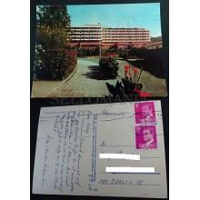 POSTAL PUERTO DE LA CRUZ TENERIFE 1984 HOTEL BOTANICO CANARIAS POSTCARD  CC03673