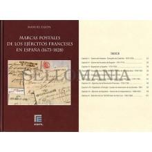 MARCAS POSTALES DE LOS EJERCITOS FRANCESES EN ESPAÑA (1673 - 1828) . EDIFIL
