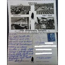 ANTIGUA POSTAL THE DON SANDEMAN VINEYARDS & BODEGAS ADVERTISING JEREZ    CC03744