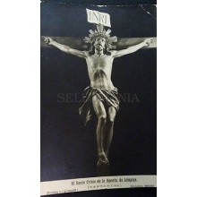 ANTIGUA POSTAL EL SANTO CRISTO DE LA AGONIA  LIMPIAS  CANTABRIA POSTCARD CC03754