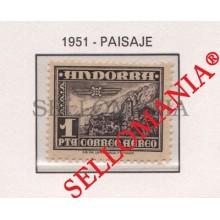 1951 PAISAJE LANDSCAPES MONTAÑAS MOUNTAINS EDIFIL 59 ** MNH ANDORRA  TC21840