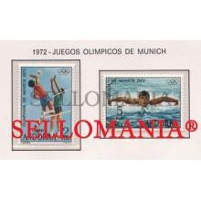 1972 JUEGOS OLIMPICOS MUNICH MÜNCHEN OLYMPIC  77 / 78 ** MNH ANDORRA TC21845