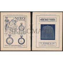 ANTIQUE ADVERTISEMENT YEAR 1919 NERO WATCH WATCHMAKER JEWELER SILVERSMITH 04PRCC