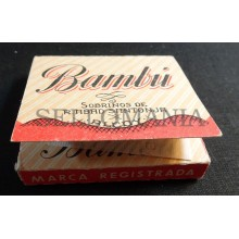 ANTIQUE CIGARETTE ROLLING PAPER BAMBU EARLY 1900 TOBACCIANA COLLECTIBLES  003CC