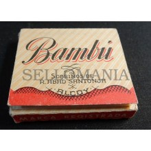 ANTIQUE CIGARETTE ROLLING PAPER BAMBU EARLY 1900 TOBACCIANA COLLECTIBLES  007CC