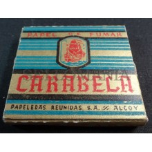 ANTIQUE CIGARETTE ROLLING PAPER CARABELA EARLY 1900 TOBACCIANA COLLECTIBLES 12CC