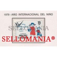 1979 AÑO INTERNACIONAL NIÑO INTERNATIONAL YEAR CHILD  127 ** MNH ANDORRA TC21870