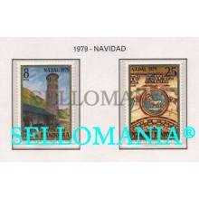 1979 NAVIDAD CHRISTMAS SANTA COLOMA AGNUS DEI  128 / 29 ** MNH ANDORRA TC21871