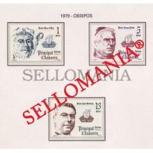 1979 OBISPOS BISHOPS PERE D' ARG CAIXAL BENLLOCH 130 / 32 ** MNH ANDORRA TC21872