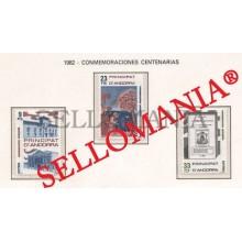 1982 SAN FRANCISCO ASIS ASSISI HOLY TOMAS JUNOI 163 / 65 ** MNH ANDORRA TC21884