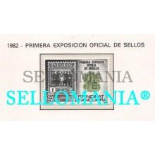 1982 EXPOSICION SELLOS OFFICIAL PHILATELIC EXHIBITION 162 ** MNH ANDORRA TC21886