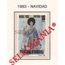 1983 NAVIDAD CHRISTMAS SAN CERNI DE NAGOL  174 ** MNH ANDORRA TC21890