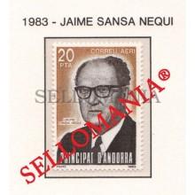 1983 JAIME SANSA NEGUI VEGUER EPISCOPAL MAGISTRATE   173 ** MNH ANDORRA TC21891