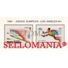 1984 JUEGOS OLIMPICOS SARAJEVO SKI ATHLETE ESQUI 176 / 77 ** MNH ANDORRA TC21894