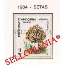1984 NATURALEZA MURGA MUSHROOMS SETAS NATURE  181 ** MNH ANDORRA TC21895