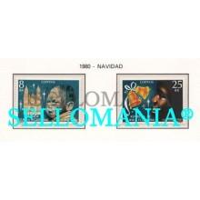 1981 NAVIDAD CHRISTMAS NIÑO CHILD CHIMES 24  25 ** MNH GUINEA ECUATORIAL TC21928