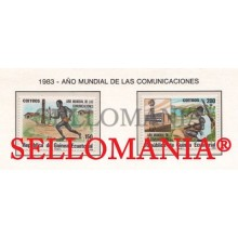 1983 COMUNICACIONES COMMUNICATIONS  45 / 46 ** MNH GUINEA ECUATORIAL TC21936