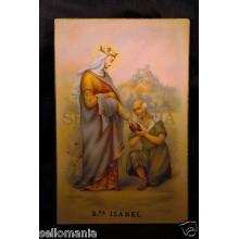 ANTIGUA POSTAL SANTA ISABEL OLD SAINT ELIZABETH POSTCARD HOLY CARD        CC0002