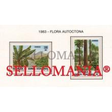 1983 FLORA BOSQUE PALMERA FOREST PLANTS 47 / 48 ** MNH GUINEA ECUATORIAL TC21937