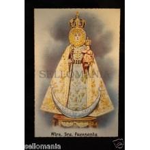 OLD POSTCARD VIRGEN DE LA FUENSANTA OLD VIRGIN OF FUENSANTA HOLY CARD     CC0020