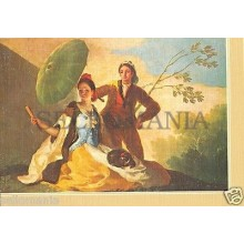 POSTAL GOYA EL QUITASOL PAINTING POSTCARD POSTKARTE PAINTER PICTURE      TP10172