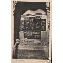 POSTAL SANTIAGO DE COMPOSTELA SEPULCRO CONDE TRABA FOTO ROISIN POSTCARD  CC02740