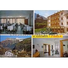 POSTAL HOTEL EDELWEIS TORLA HUESCA PIRINEO ARAGONES POSTCARD POSTKARTE   CC03007