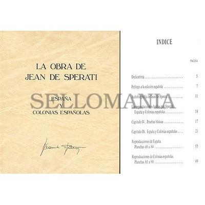 LA OBRA DE JEAN DE SPERATI . ESPAÑA Y COLONIAS . NUEVO . EDICION 1984